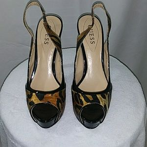 Guess Woman High Heels Size:7 1/2 M